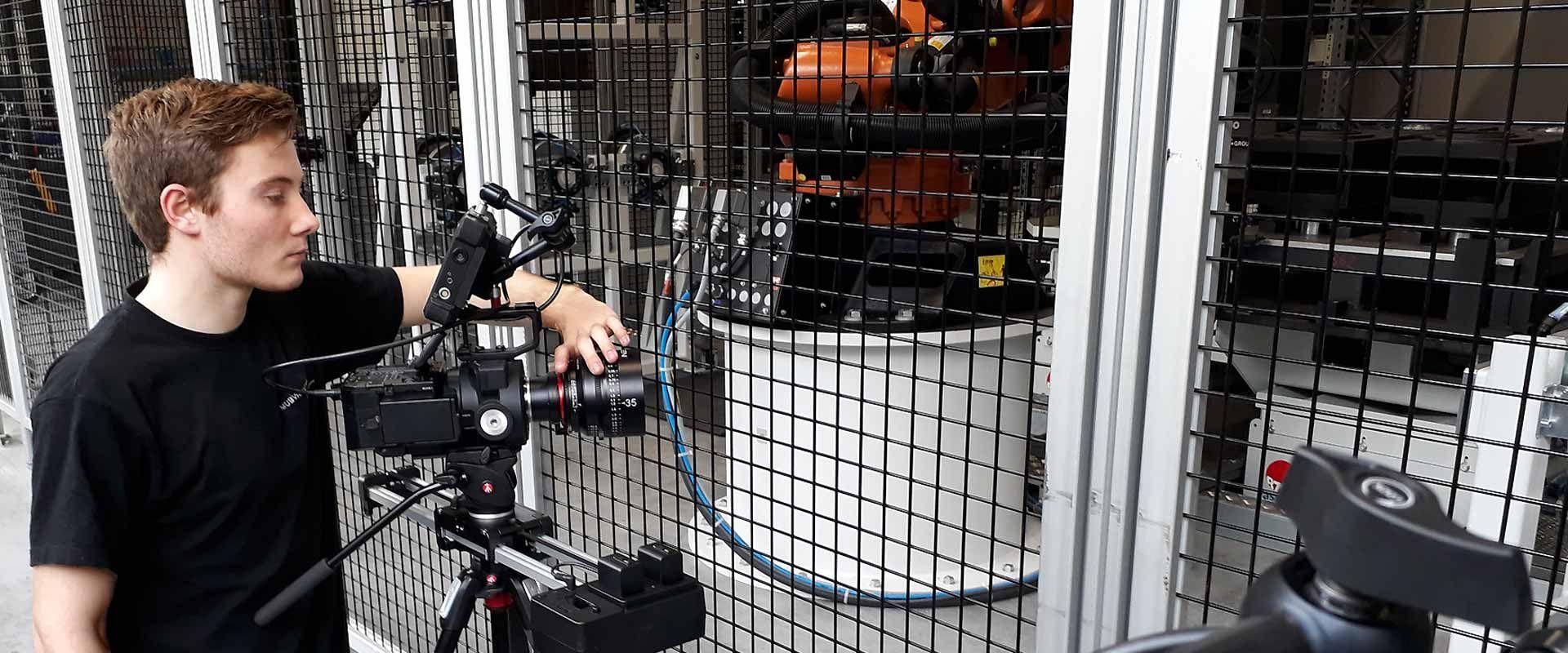 Aufnahmen für Produktfilm - Videoproduktion Sachsen