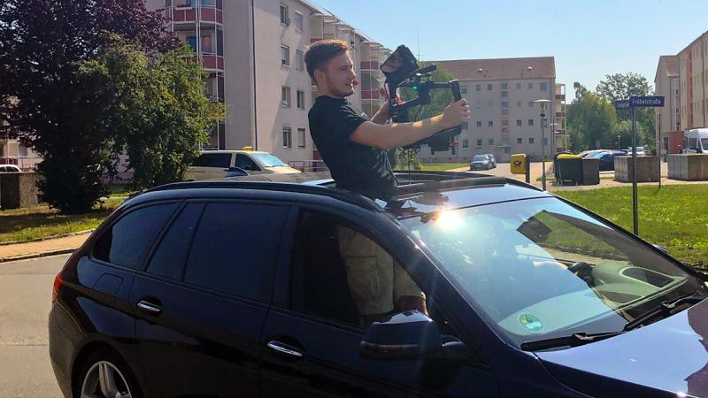 Videoproduktion - Dreharbeiten bei Henry Wendt