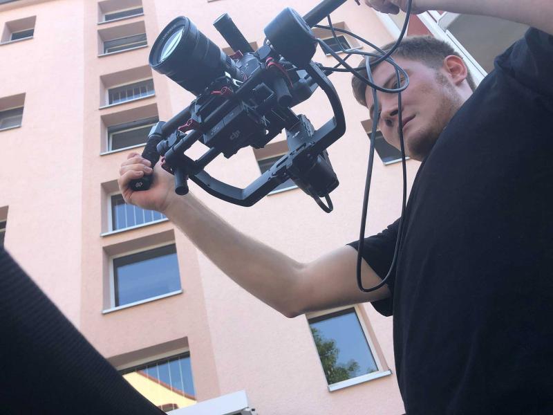Aussenaufnahmen Imagefilm| Videoproduktion Sachsen