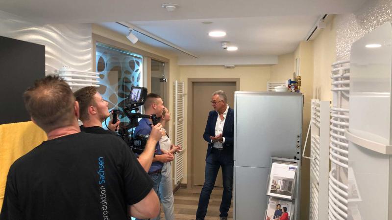 Dreharbeiten_Imagevideo Beratung | Videoproduktion Sachsen