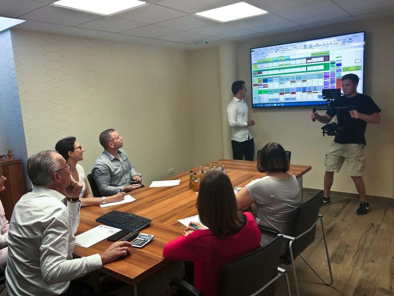 Imagefilm Team Briefing | Videoproduktion Sachsen