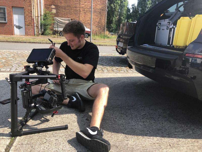 Vorbereitung Dreharbeiten | Videoproduktion Sachsen