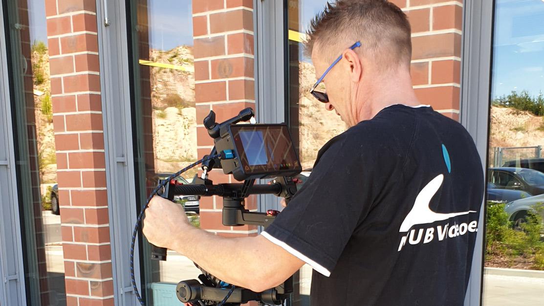 Videoproduktion - Dreharbeiten mit Multicopter