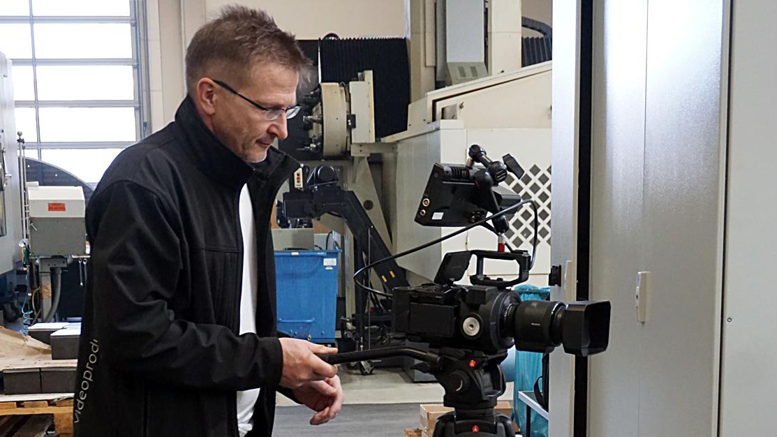 Videoproduktion - Dreharbeiten bei SAV